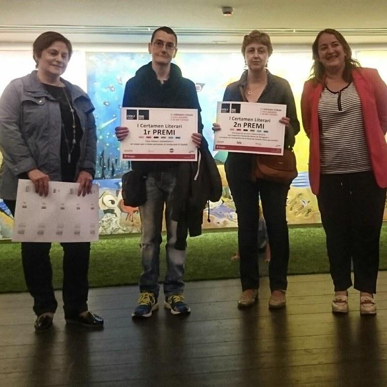 Cristina Torrente i Marta Gago, guanyadores del concurs #365testimo de la Xarxa de Centres Cívics de Tarragona