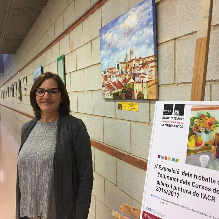 Mostra-Exposició dels treballs de l'alumnat del curs de dibuix i pintura de l'ACR