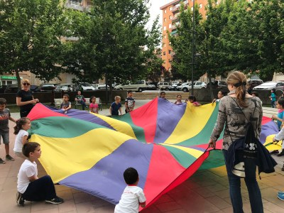 200 famílies gaudeixen del dia internacional del joc i la joguina a les ludoteques municipals