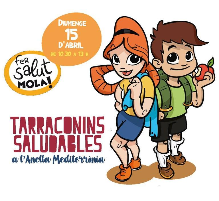 La 5a Trobada dels Tarraconins Saludables convida a practicar disciplines dels Jocs 2018 a l'Anella Mediterrània