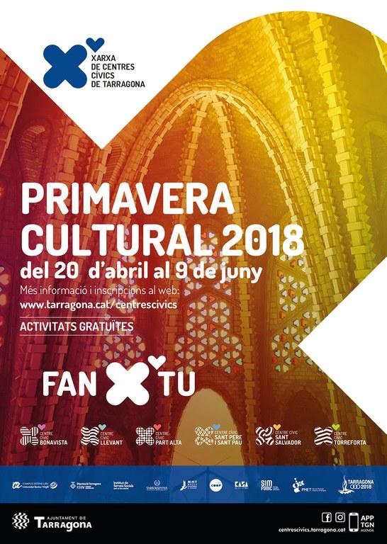 Torna la Primavera Cultural amb una trentena d'activitats gratuïtes per a tots els públics