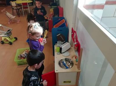 Visita escolar Centre Cívic de Sant Pere i Sant Pau