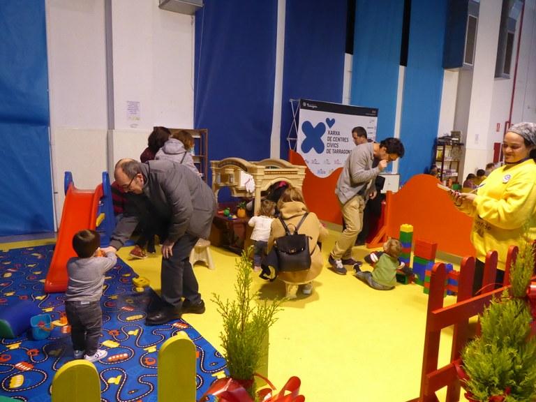 Els Centres Cívics presents al Parc de Nadal de Tarragona