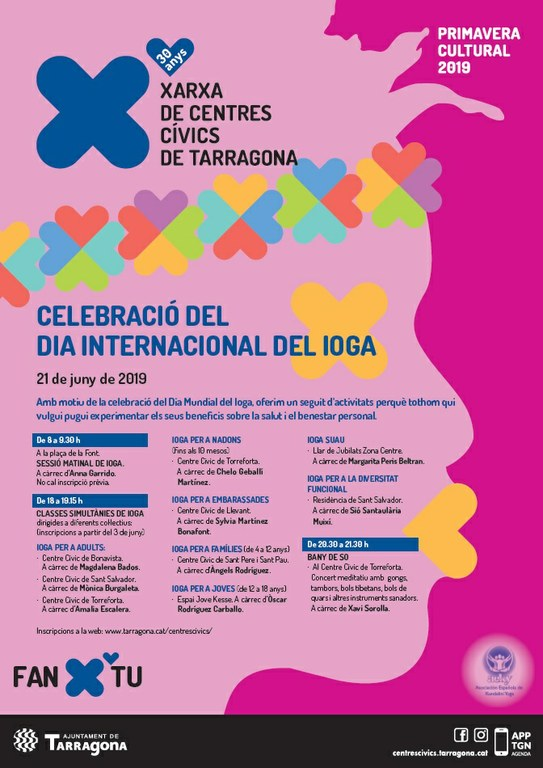 L'Ajuntament de Tarragona celebra per primera vegada el Dia Internacional del Ioga