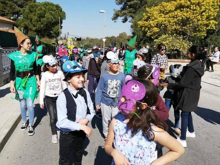 Rua de Carnaval al barri de Sant Salvador i Sant Ramon