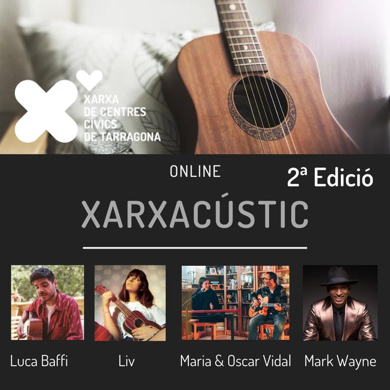La Xarxa de Centres Cívics de Tarragona ofereix un nou cicle de concerts en línia