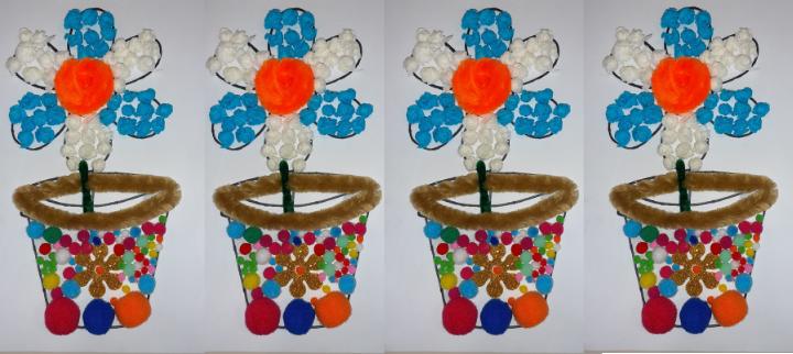 Taller Collage primaveral