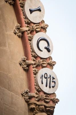 Detall de la façana del Mercat Central de Tarragona. Foto: David Oliete.