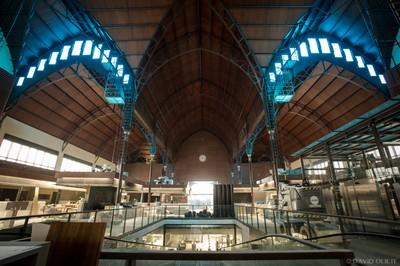 Interior de la remodelació del mercat. Foto: David Oliete