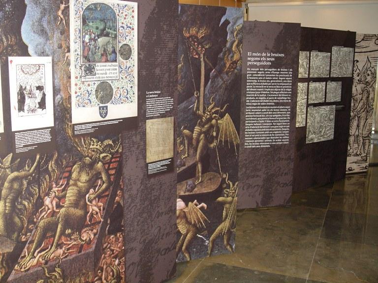"""El Palau presenta l'exposició """"Per bruixa i metzinera. La cacera de bruixes a Catalunya"""" que es podrà visitar des del 2 de novembre fins al 3 de desembre"""