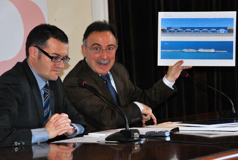 El Patronat Municipal de Turisme de Tarragona i l'Autoritat Portuària de Tarragona signen un conveni per a la promoció del turisme de creuers a la ciutat
