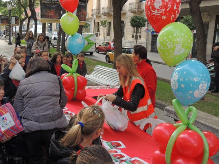 ESPIMSA ha col·laborat amb la Creu Roja en la campanya de recollida d'aliments