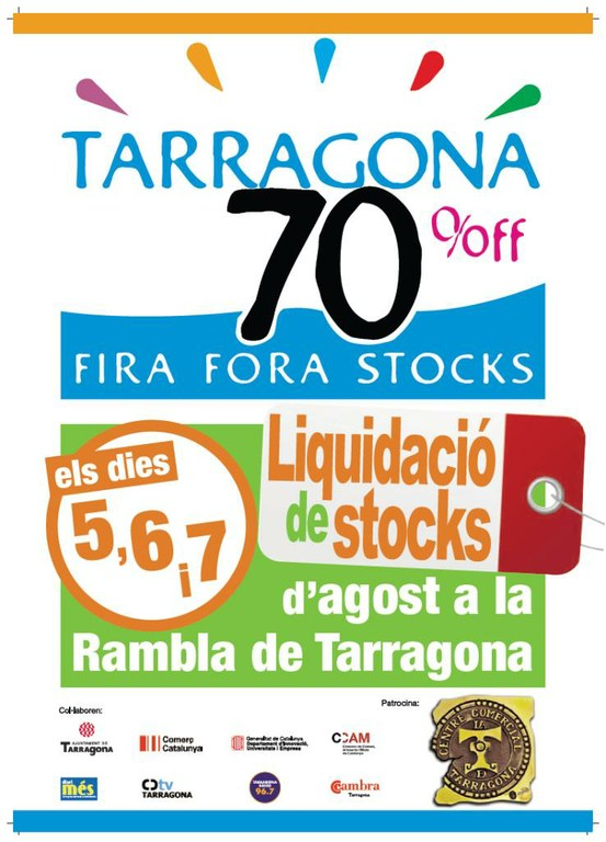 IV Edició de la Fira Fora Stocks, els dies 5, 6 i 7 d'agost