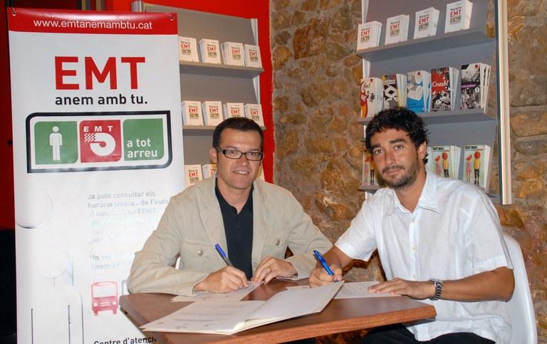 L'Empresa Municipal de Transports i el Patronat Municipal de Turisme signen conveni per facilitar el transport als Congressos que se celebrin a Tarragona