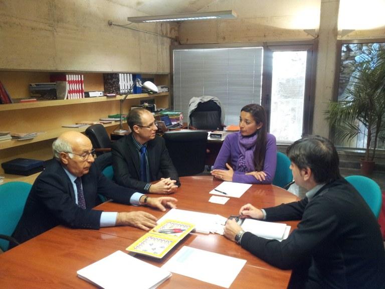 La consellera de Turisme es reuneix amb l'OPC per iniciar projectes comuns