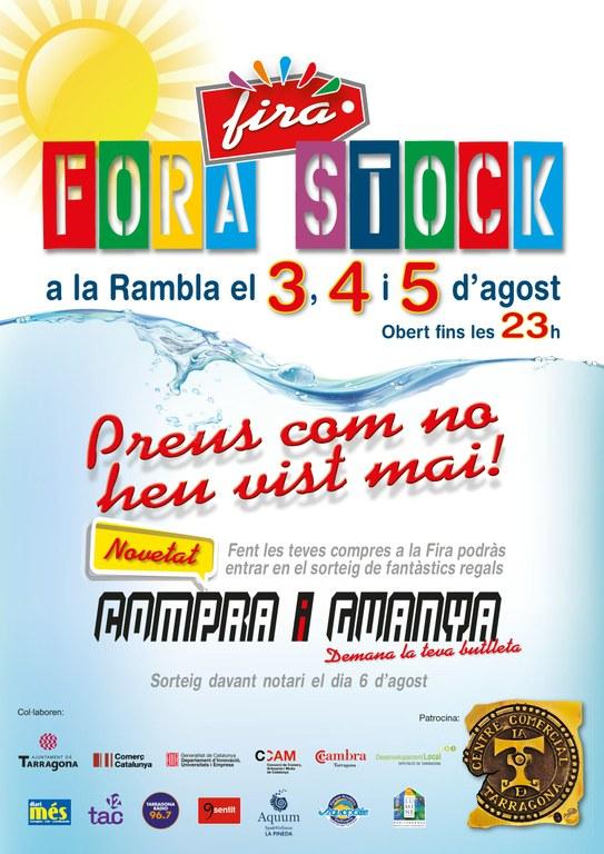 """La nova edició de la Fira """"Fora stocks"""" comença aquest divendres a la Rambla Nova"""