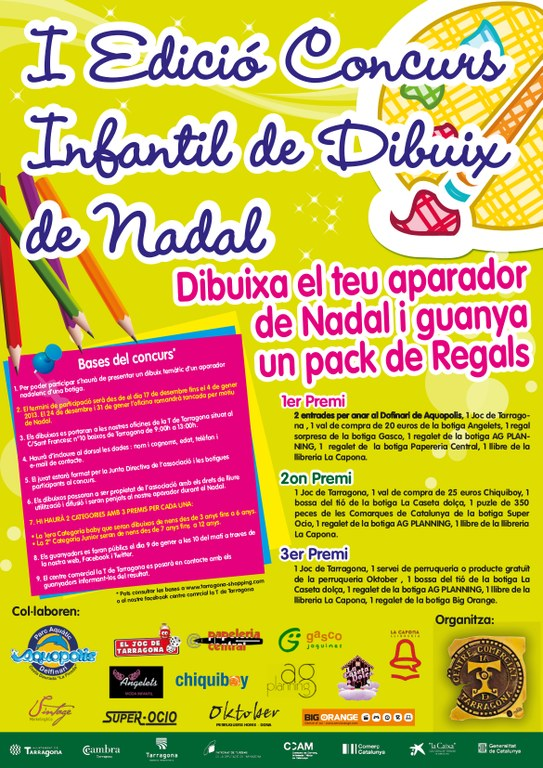 L'Ajuntament i la ViaT presenten el I Concurs de dibuix amb motiu de les festes nadalenques