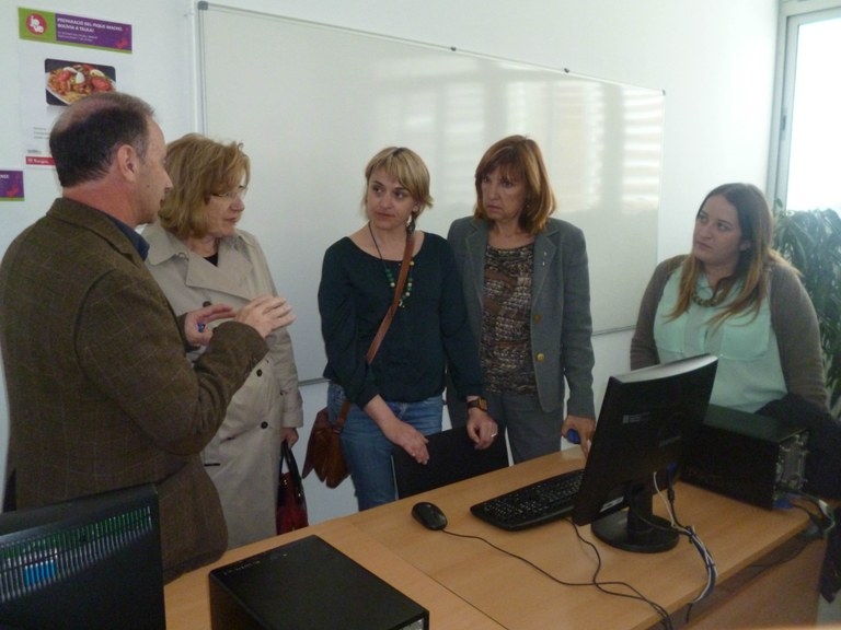 L'Institut Vidal i Barraquer inaugura un servei d'informació juvenil i inserció ocupacional