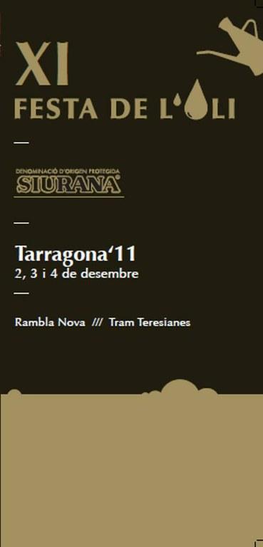 L'XI Festa de l'Oli porta l'oli nou de la DOP Siurana a Tarragona