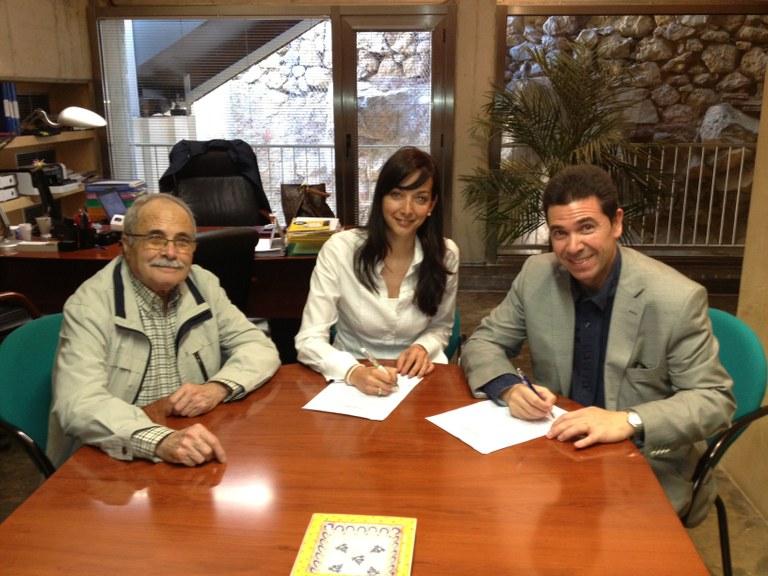 Signat un conveni de col·laboració per promocionar la Tàrraco Romana
