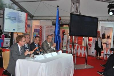 El Servei Municipal d'Ocupació està present a l'exposició sobre l'Europa social