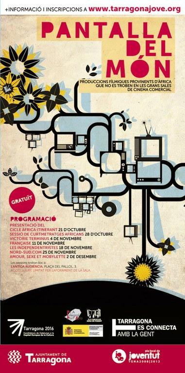 Es presenta la segona edició del cicle Pantalla del Món dins la Tardor Intercultural de Joventut