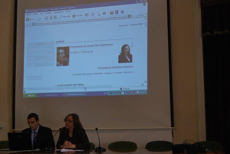 'T-Impulsa', primer butlletí electrònic de l'Ajuntament elaborat a través del nou web municipal