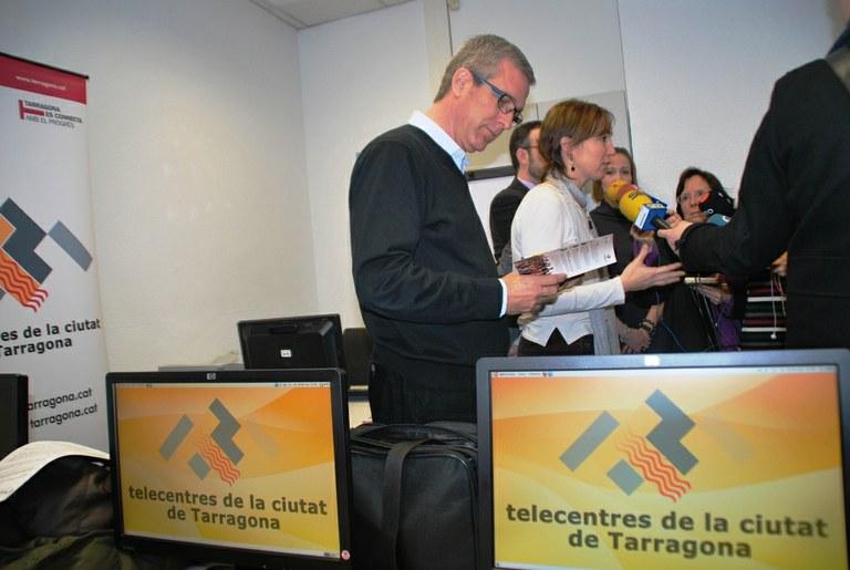La Xarxa de Telecentres estrena un nou espai a la plaça Imperial Tàrraco
