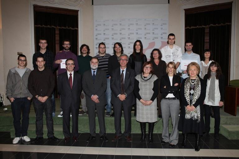 Lliurats els premis de la 10a edició del concurs Tàrraco Empresa Jove