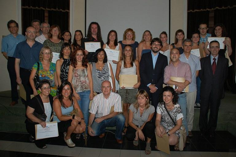 Aquest dimecres s'han lliurat els diplomes als alumnes que han participat en programes formatius de Tarragona Impulsa