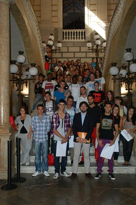 Aquest dimarts s'han lliurat els diplomes als 60 alumnes de les Cases d'Oficis