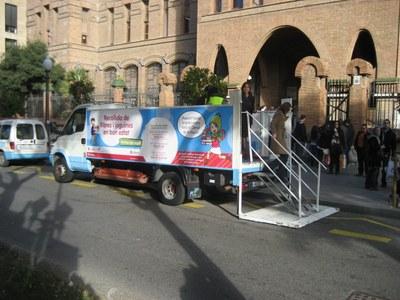 El Camió de la Il·lusió tornarà a la Rambla Nova els dies 7, 8 i 9 de gener