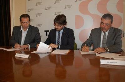 L'Ajuntament, la Cambra de Comerç i PIMEC signen un Conveni per elaborar un pla de millora i promoció dels polígons industrials