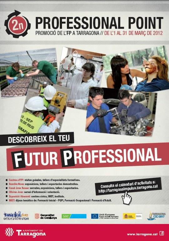Durant el mes de març es promocionaran els estudis de Formació Professional a Tarragona