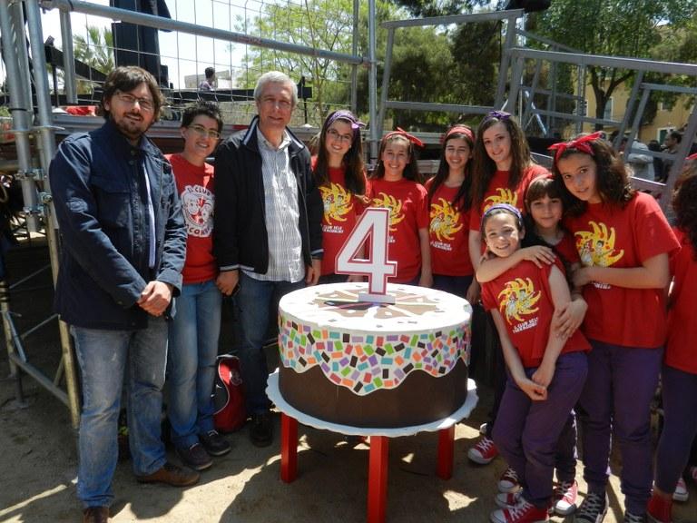 Festa pel quart aniversari del Club dels Tarraconins