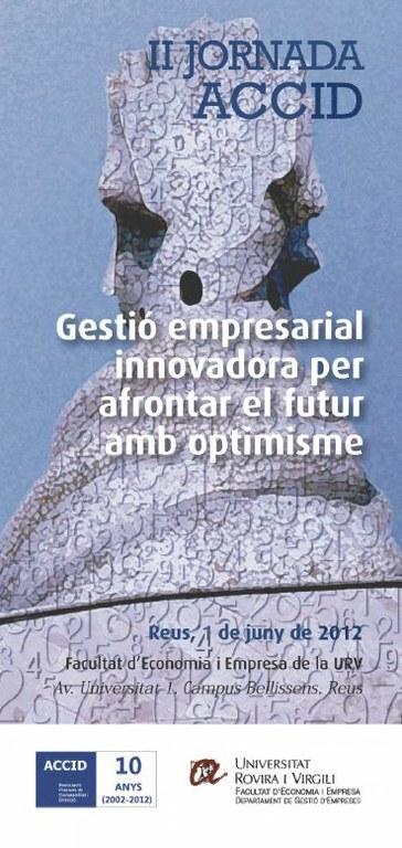 II Jornada ACCID sobre gestió empresarial per afrontar el futur amb optimisme