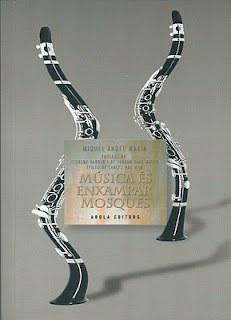 """La presentació del llibre """"Música és enxampar mosques"""" tanca la programació de primavera de l'escenari obert"""
