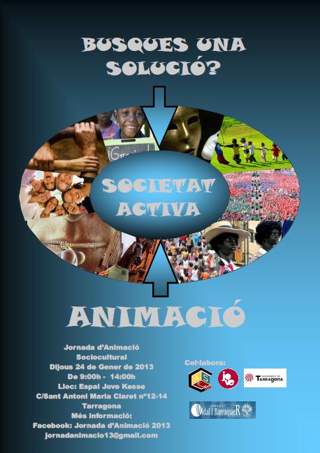 """Els alumnes de l'institut Vidal i Barraquer organitzen la jornada """"Busques una solució? Societat activa: animació"""""""
