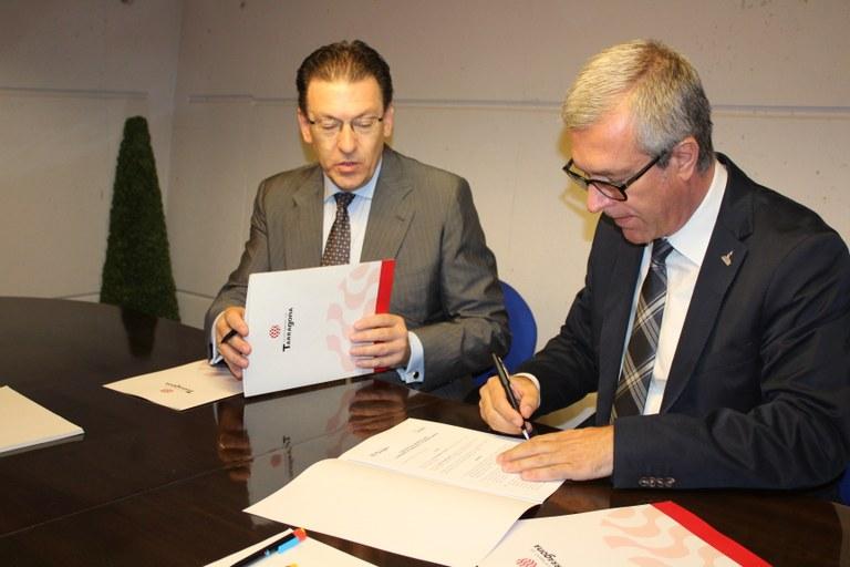 L'Ajuntament de Tarragona i el Centre Tecnològic Barcelona Digital  signen un acord per potenciar la Fundació Tarragona Smart Mediterranean City