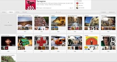 El naixement de Tarragona a Pinterest