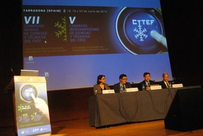 El Palau de Congressos acull fins divendres el VII Congreso Ibérico de Ciencias y Técnicas del Frío