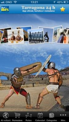 El Patronat de Turisme presenta Tarragona 24h, una aplicació per a mòbil d'interès turístic i ciutadà