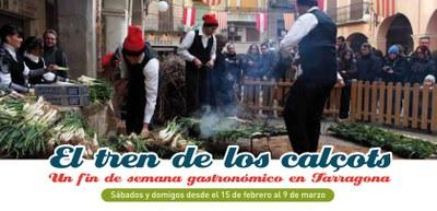 """El Patronat Municipal de Turisme i Renfe presenten la campanya """"El tren dels calçots"""""""