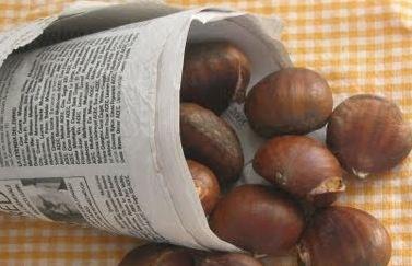 Informació sobre la venda de castanyes amb motiu de la festivitat de Tots Sants