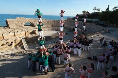 La Diada Castellera de Sant Joan enceta el programa d'actes de 'Tarragona, ciutat de castells'