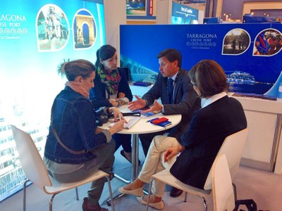 Tarragona Cruise Port Costa Daurada es promociona a la Cruise Shipping de Miami