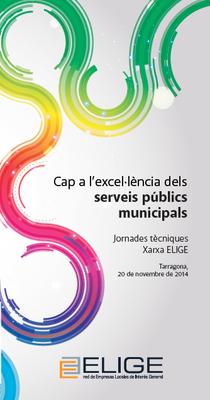 """El Palau de Congressos acull demà la jornada """"Cap a l'excel·lència dels serveis públics municipals"""""""