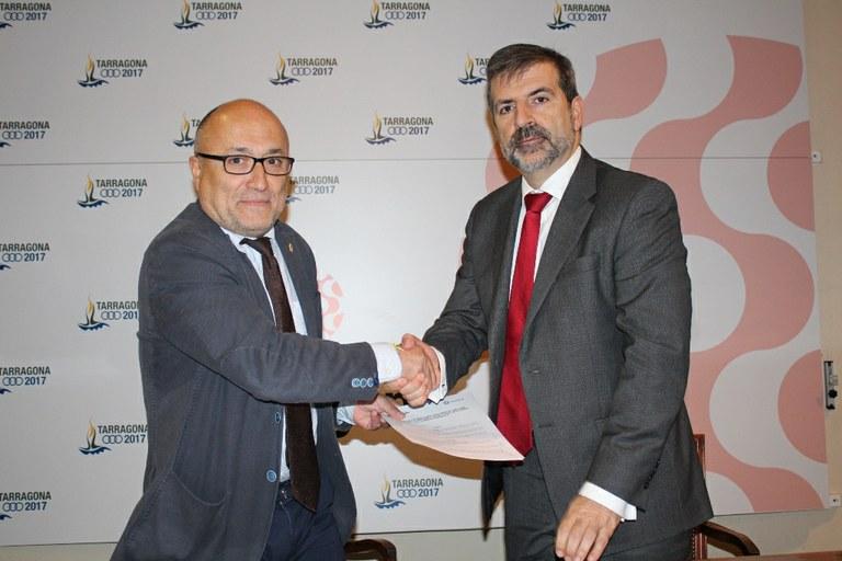 L'Ajuntament de Tarragona i el Parc Central col·laboren per la millora de l'ocupació
