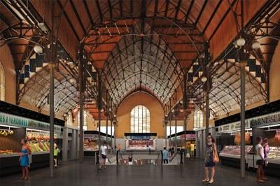 Mercadona ha presentat una oferta per obrir un supermercat al Mercat Central