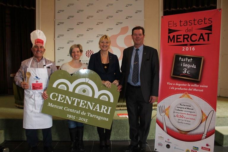 """Arriben """"Els tastets del mercat"""" per celebrar el centenari"""